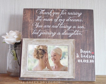 Mother In Law Gift - Wedding Gift For Parents - Parents Wedding Gift - Mother Of Groom Gift - Parents Thank You Gift - Wedding Gift