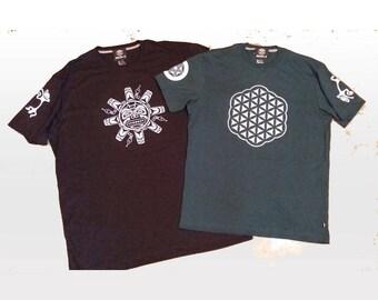 Maori T-shirt | Circle |  reflective