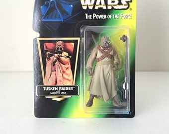 Star Wars Toy - Star Wars Gift for Men - Tusken Raider Figure - Kenner Star Wars Lover Gift - Vintage Action Figure Kids Toy - A New Hope