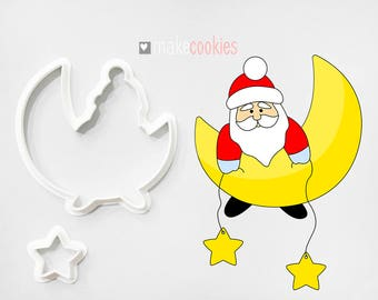 Santa Claus 14 Cookie Cutter
