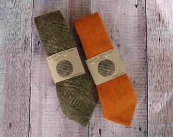 Pure Wool Harris Tweed Necktie