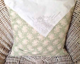 Pillow Case 35 x 35 cm in country house style