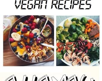Raw Vegan Recipes: eBooklet by Allamay