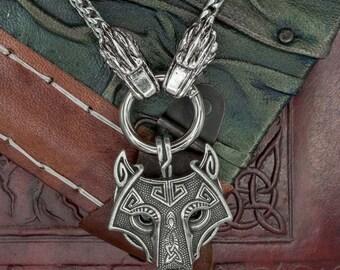 Fenrir Wolf Steel Chain