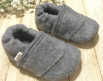 gray baby moccasins, baby shoes, gray baby moccasins, toddler shoes, gray toddler shoes, baby moccs
