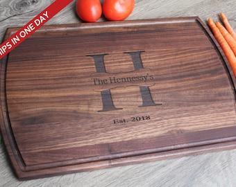 Board, Cutting Board, Wood Cutting Board, Wedding Present, Personalized Cutting Board, Wedding Gift, Custom Board, Cheese Board