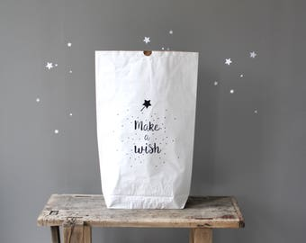 "Paper bag ""Make a wish"""