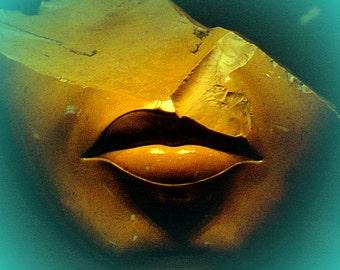 Framed Photograph 'Her Lips'