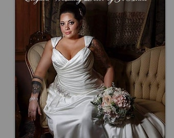 RUSTIC WEDDING BOUQUET, Vintage Glam Jeweled Wedding Bouquet, Silk flower Winter Green Bouquet, Rustic Brooch Bouquet-Deposit