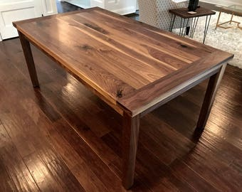 Perfect Modern Walnut Dining Table -Idea & Inspiration
