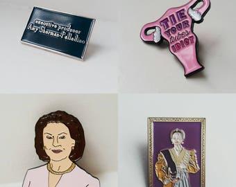 Gilmore Girls- Set of 4 pins