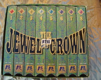 The Jewel in the Crown Complete Set VHS 1984