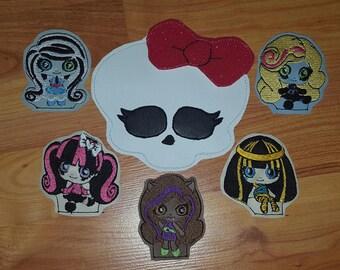 Monster Girl Finger Puppet Set
