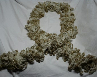 frilly ruffle scarf