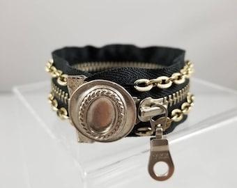 Vintage Zipper Bracelet