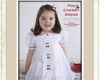 The Cherry Dress ePattern sizes 12m-4T