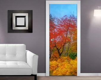 Quick View. Colors Of Autumn DOOR MURAL ...
