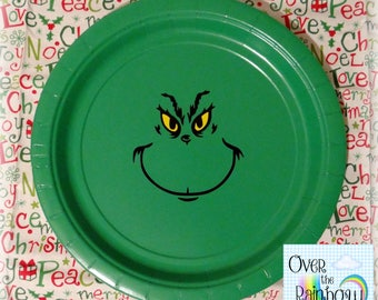 Dr Seuss Grinch Inspired Tableware sets 20ct