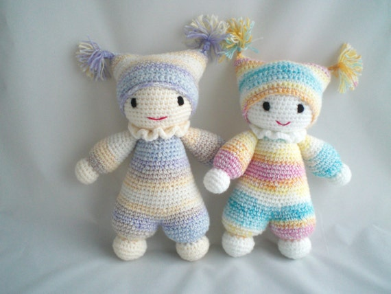 Crochet Amigurumi For Baby : Crochet baby doll crochet amigurumi baby doll super cute