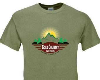 Gold Country MINIs t-shirts