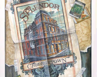 Cabbagetown (Toronto) - NEW Giclée by Rob Croxford