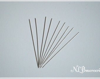 Needle threading beads - 10 cm