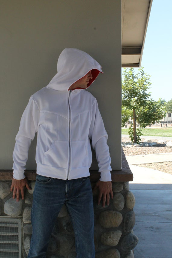 Assassin Beaked Hoodie Cosplay Costume Jacket 5qy2TV