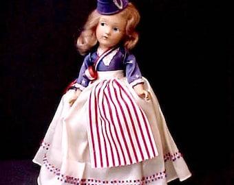 Darling All Original Composition World War Victory Doll