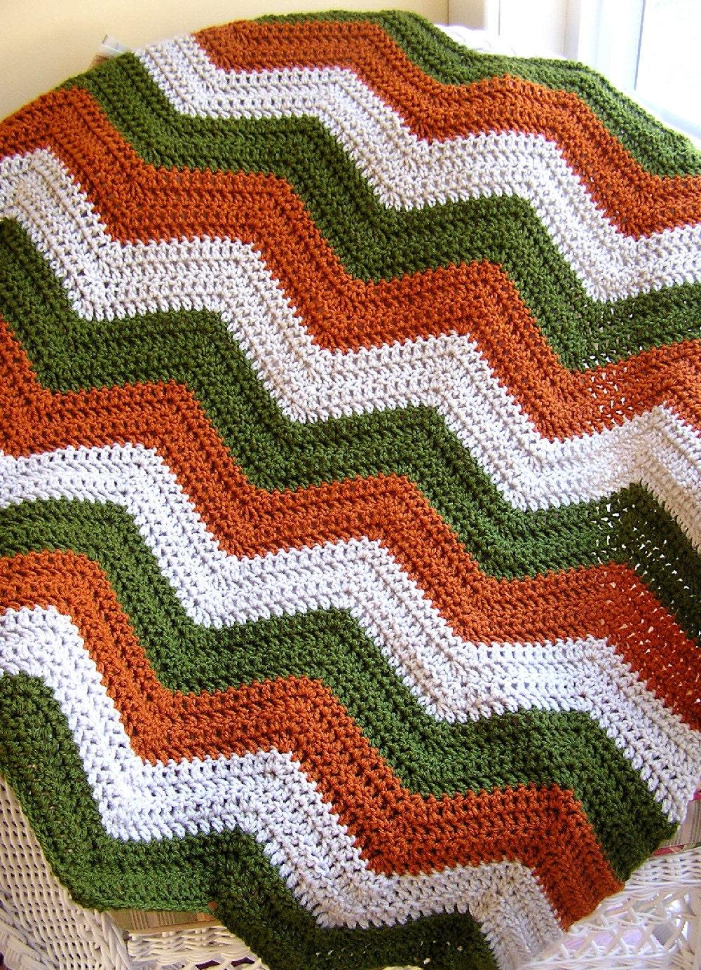 neue Chevron Zick Zack Baby Decke afghanische wickeln häkeln