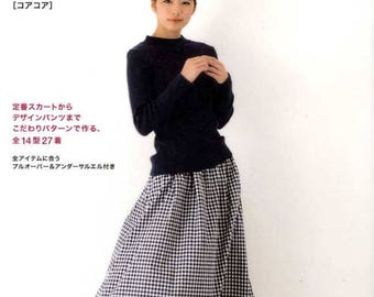 Quoi Quoi 27 Skirts and Pants - Japanese Pattern Book MM