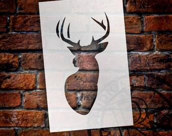 Little Buck - Art Stencil - Select Size - STCL1286 by StudioR12