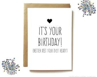 Husband birthday etsy boyfriend birthday card husband birthday card sexy birthday card for boyfriend dirty birthday bookmarktalkfo Image collections