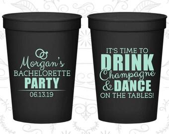 Bachelorette Party Cups, Custom Bachelorette Cups, Bachelorette Plastic Cups, Bachelorette Stadium Cups, Bachelorette Party Favors (C60154)