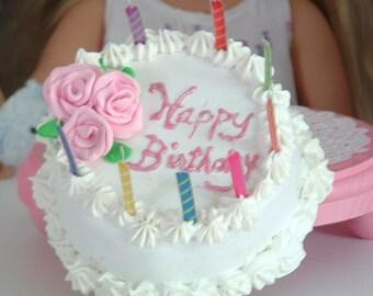 Birthday Cake for American Girl