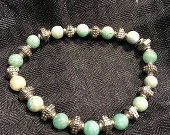 Amazonite and Sterling Silver