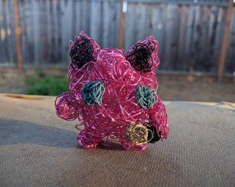 Jigglypuff Wire Sculpture