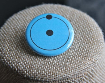 Watchmen Dr. Manhattan Button, Watchmen Dr. Manhattan Pin