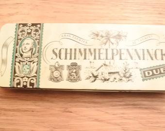 Vintage cigar tin Schimmelpenninck duet holland