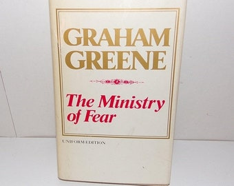 SALE The Ministry of Fear * Graham Greene - Uniform Edition