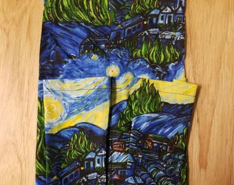 Massage Therapy Holster: Van Gough Starry Night