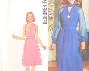 UNCUT Designer Style Cool Dress Size 12 Bust 34