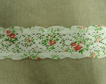 crochet lace 100% cotton 4 cm