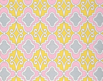 Butterfly Garden Lattice Pinkx - PWDF231 Dena Designs Dena Fishburn 100% Quilters Cotton Available in Yards, Half Yards. Fat Quarters