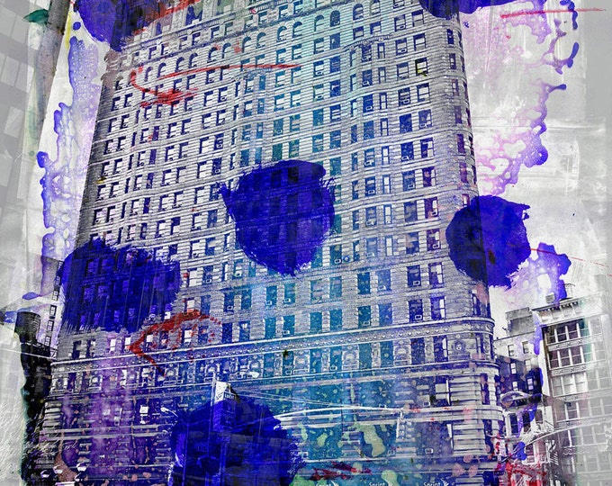 NEWYORK COLOR IV by Sven Pfrommer - 120x90cm Artwork is ready to hang