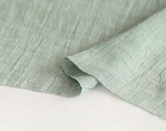 Gauze Fabric Green By The Yard
