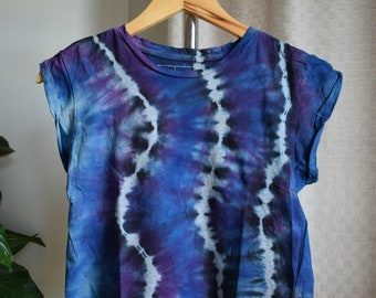 Cool Tie Dye Crop Top