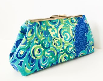 Blue Lagoon Clutch