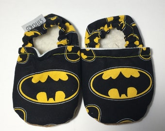 Batbaby, baby booties, baby shoes