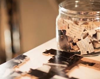Wedding Guest Book Puzzle -  150 Pieces (guest book alternatives)