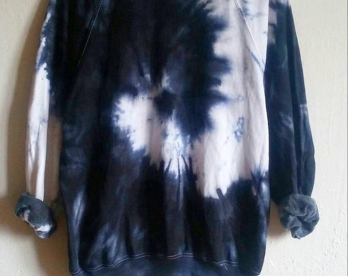Featured listing image: The Black Snake Tie-Dye Sweatshirt, tumblr, grunge, hipster
